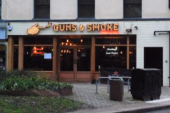 Guns & Smoke restaurant, Barnet