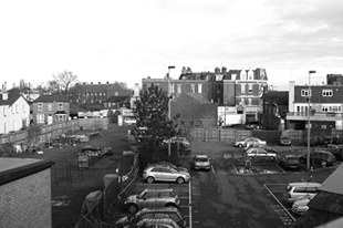 Barnet market from above