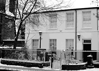 Barnet Museum in the snow