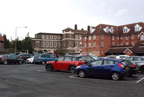 Fitzjohn Avenue car park