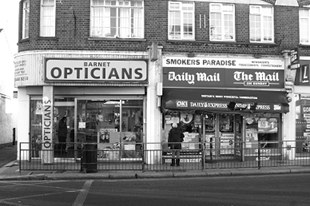 Barnet shop fronts to improve