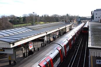 High Barnet underground station