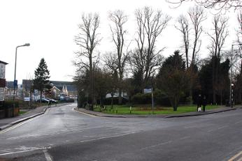 Wellhouse Lane junction, Barnet
