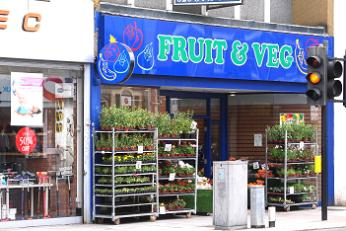 Fruit & Veg shop, Barnet