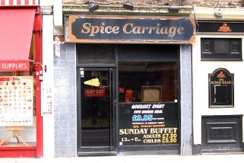 Spice Carriage, Barnet